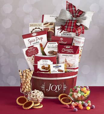 Spread The Joy Holiday Gift Basket