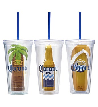 Corona Always Summer Cold Cup Gift - set of 3
