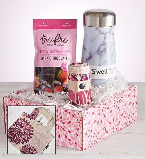 Swell® Traveler, Pretty Packable Bag & Sweets Gift