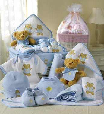 Comfy Baby Newborn Basket - Boy or Girl
