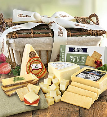 Country Handcrafted Cheese Gift Basket