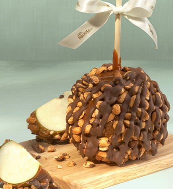 Gourmet Honey Roasted Peanut  Caramel Apple