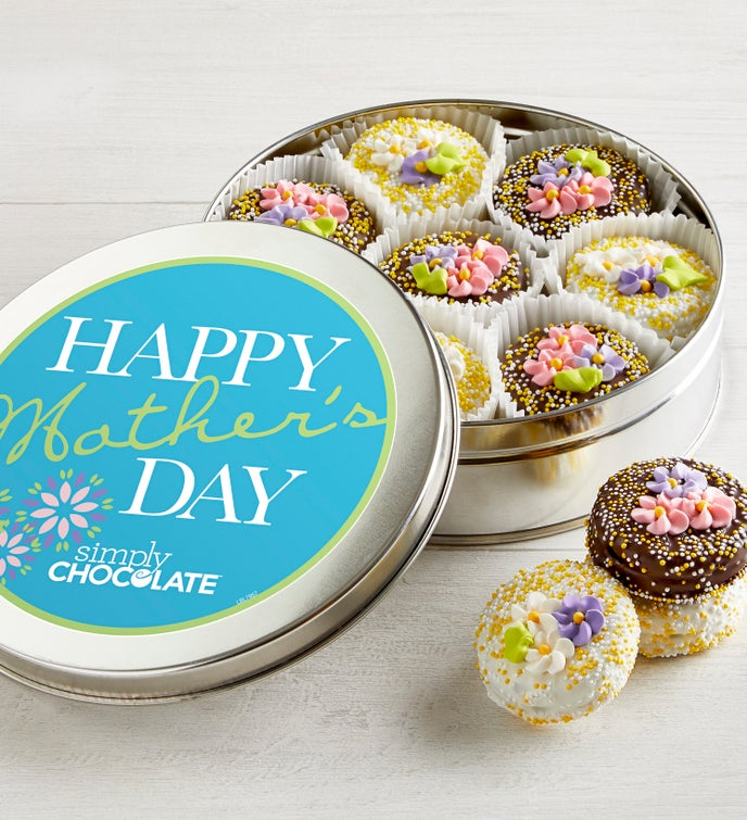 Mother's Day Belgian Chocolate Oreo® Cookie Tin