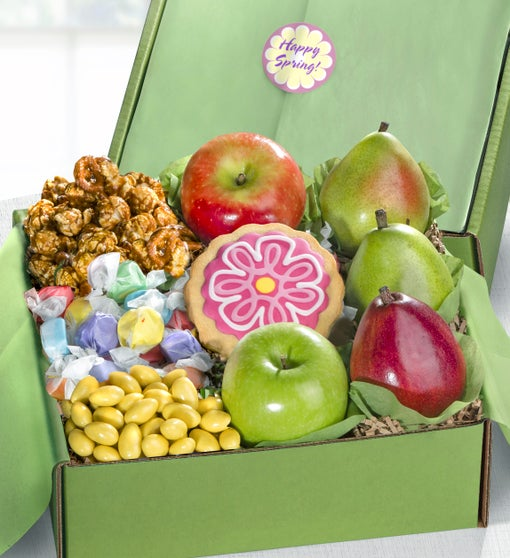 Sweet Spring Fruit & Treats Box