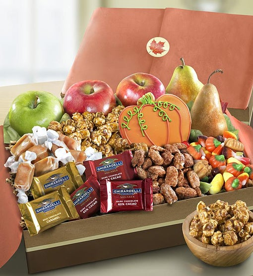 Autumn Harvest Fruit & Sweets Box
