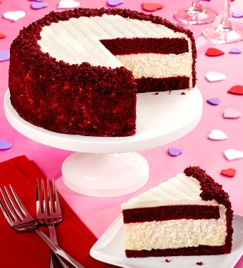 Junior's® Red Velvet Cheesecake by 1800Baskets.com