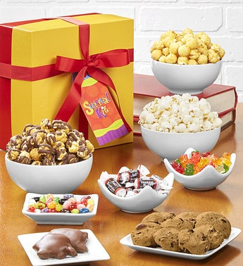 The Popcorn Factory Survival Kit Sampler Box
