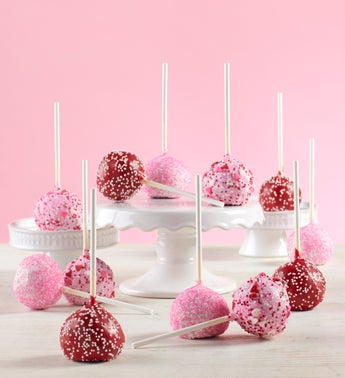 Decadent Happy Valentines Day Truffle Cake Pops