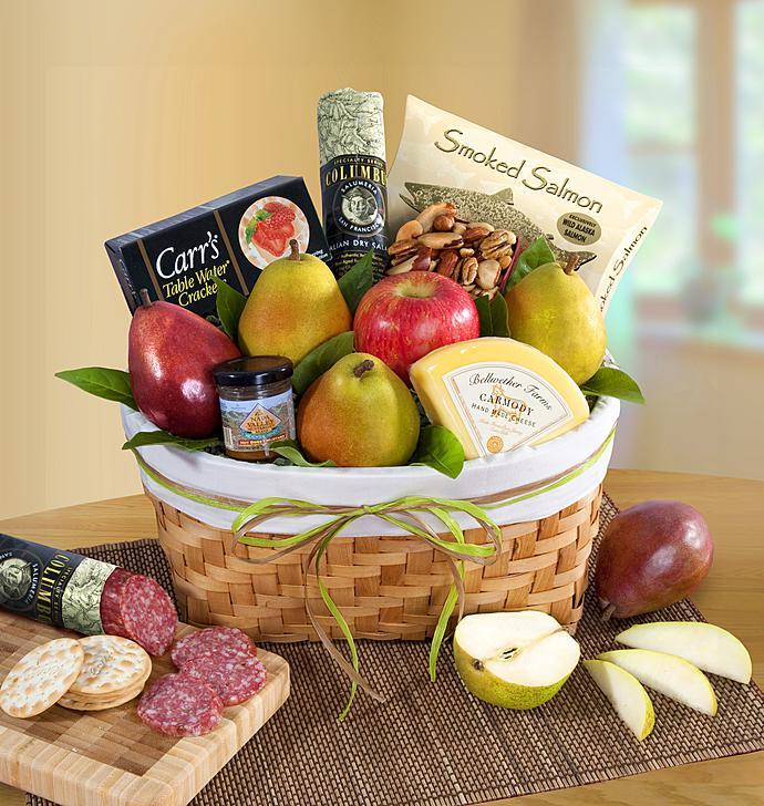 Pacific Northwest Fruit Gourmet Gift Basket & Fruit Gift Baskets | Fresh Fruit Basket Delivery | 1800Baskets