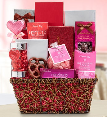 Fannie May® Love Always Gift Basket