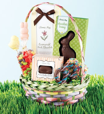 Fannie May® Hippity Hoppity Bunny Gift Basket