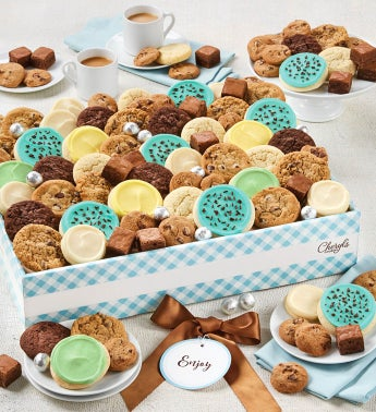 Cheryls Dessert Tray Gift Box with Message tag- Large