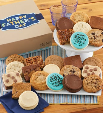 Fathers Day Cookie and Brownie Gift Box
