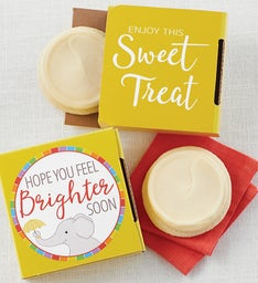 Feel Brighter Soon Cookie Card
