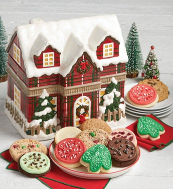 Collectors Edition Chalet Cookie Jar