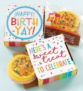 Happy Birth-Yay Cookie Card with Music