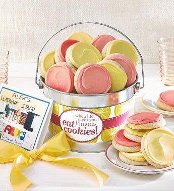 Alex39s Lemonade Stand Buttercream Pail