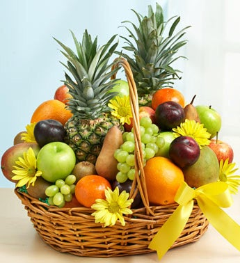 Deluxe All Fruit Basket