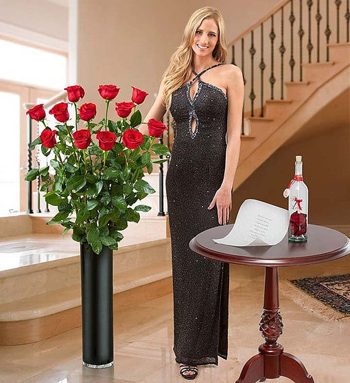Magnificent Rose® 4 Feet Tall Red Roses