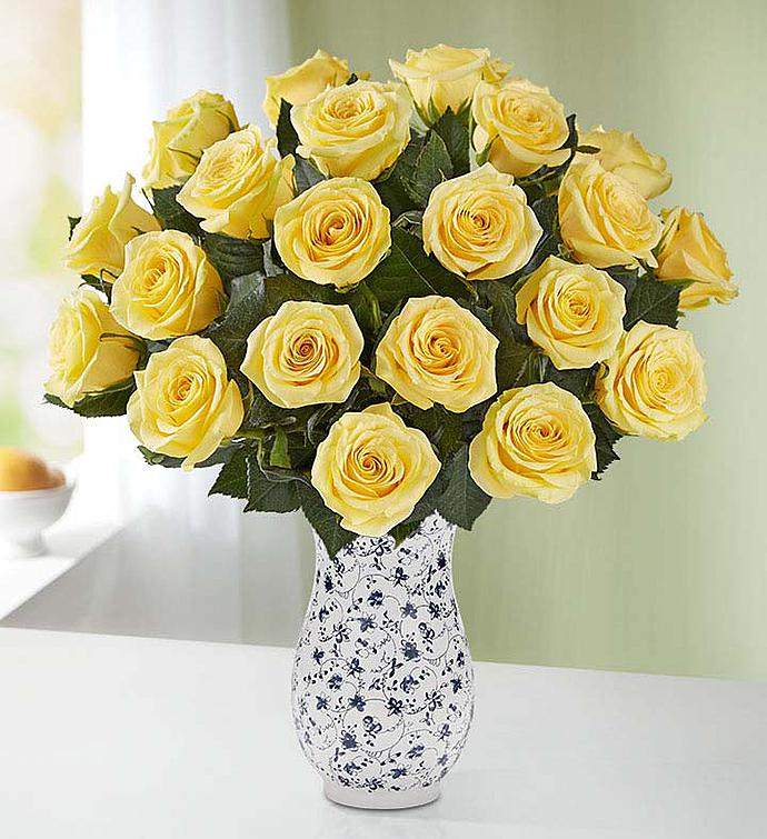Yellow Roses 12-24 Stems