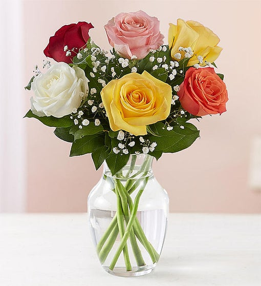 Love's Embrace™ Assorted Roses