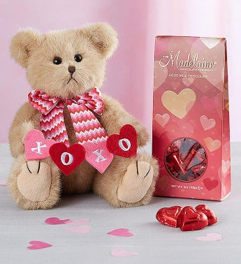 Bearington Valentines Day Bear  Chocolates