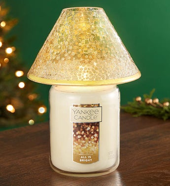 Yankee Candle Winter Glamour Shade  Large Jar
