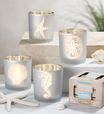 Beach Tealight Holders  Yankee Candle Tealights
