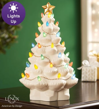 Lenox Treasured Traditions Lighted Tree