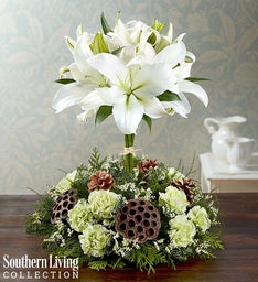 White Lily Topiary by Southern Living™