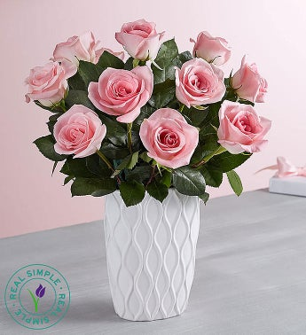 Pink Roses by Real Simple