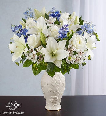Loving Blooms™ Lenox® Blue & White