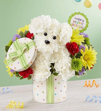 Party Pooch Happy Birthday Bouquet