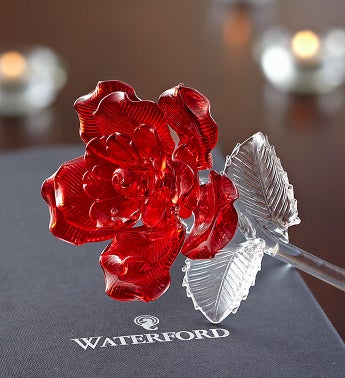 Waterford Crystal Rose