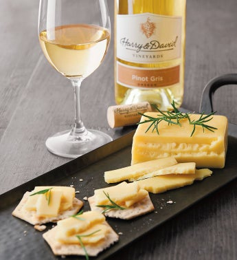 Wood River Creamery Alpha39s Morning Sun Cheese and Harry  Davidtrade Pinot Gris