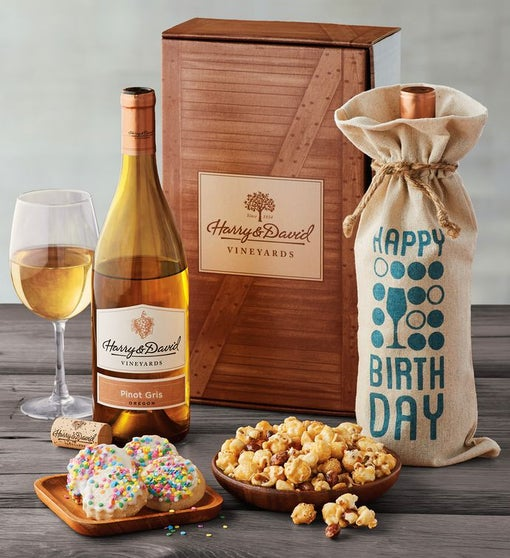 Birthday White Wine Box