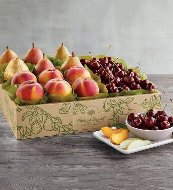 Royal Verano174 Pears Oregold174 Peaches and Plump-Sweet Cherries