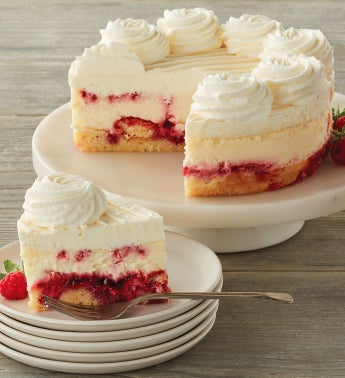 The Cheesecake Factory174 Lemon Raspberry Cream Cheesecake - 734