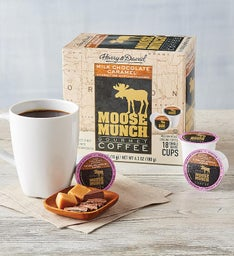 Moose Munch® Milk Chocolate Caramel Single-Serve Coffee