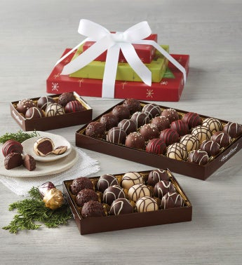 Holiday Truffle Trio