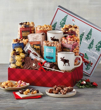 Moose Munch174 Premium Popcorn Deluxe Holiday Gift