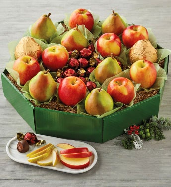 Pears and Apples Wreath