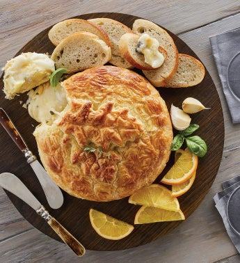 Garlic and Brie en Croute