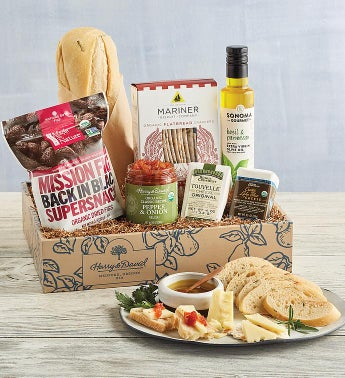 Organic Savory Snacks Gift Box