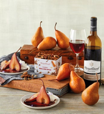 DIY Poached Pear Kit