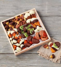 Belgian Chocolate-Dipped Dried Fruit