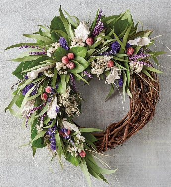 Elegant Spring Wreath