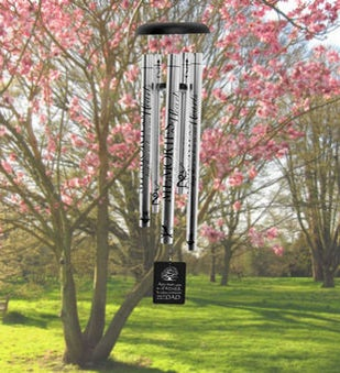 Personalized Special Dad Memorial Wind Chime