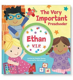 The Very Important Preschooler VIP Storybook