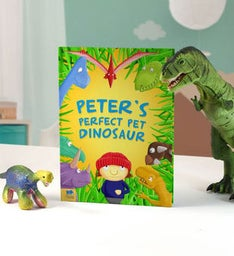 Personalized Pet Dinosaur Storybook